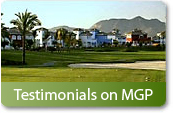 Testimonials about Murcia Golf Properties