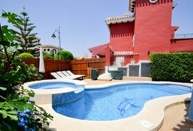 Mar Menor Golf Resort - three bed villa with heated pool