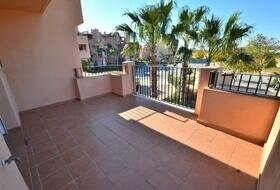 Mar Menor - One bedroom bank apartment for sale