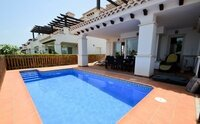 Mar Menor Two bedroom townhouse with private pool