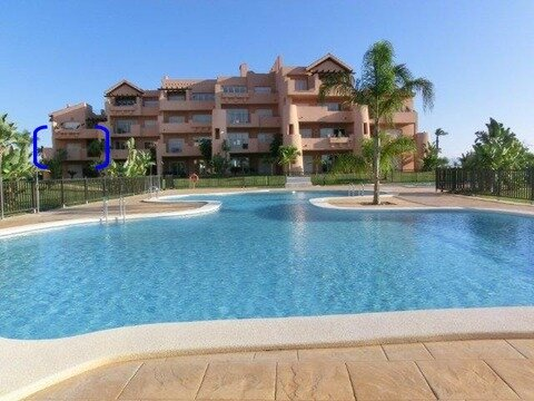 Ref:MM0312 Apartment For Sale in Mar Menor Golf Resort