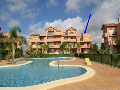 Ref:MM3721 Apartment For Sale in Mar Menor Golf Resort