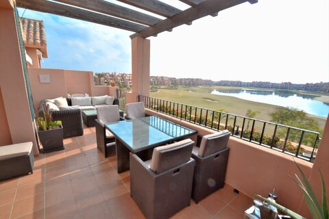 Ref:MM434 Apartment For Sale in Mar Menor Golf Resort