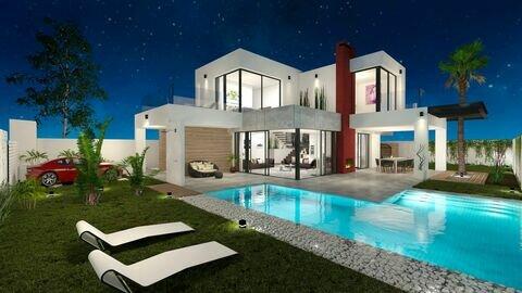 Ref:Ibiza Villa For Sale in Los Alcazares