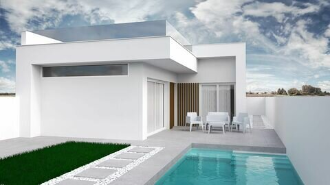 Ref:Sunbathe Villa For Sale in Santiago de la Ribera