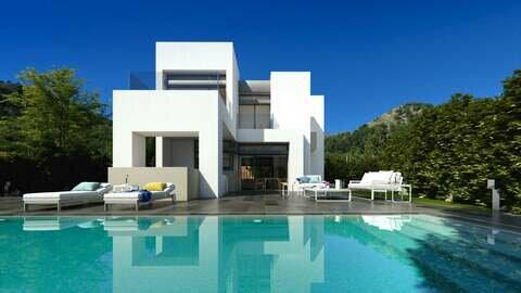 Ref:Acacias---Plot- Villa For Sale in La Manga Club