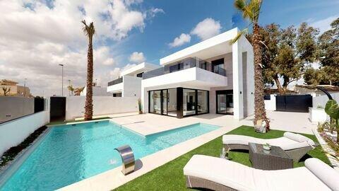 Ref:Cristina-plot-1 Villa For Sale in Sucina