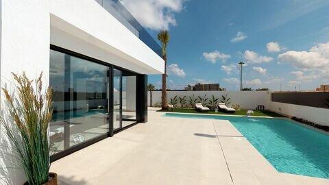 Ref:Cristina-plot-4 Villa For Sale in Sucina