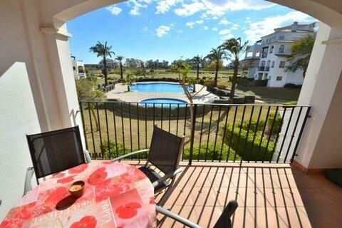 Ref:HR636 Apartment For Sale in Hacienda Riquelme Golf Resort