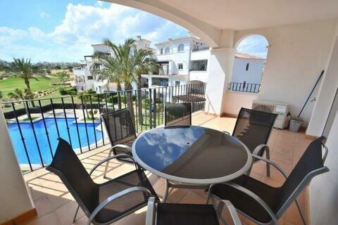 Ref:HR637 Apartment For Sale in Hacienda Riquelme Golf Resort