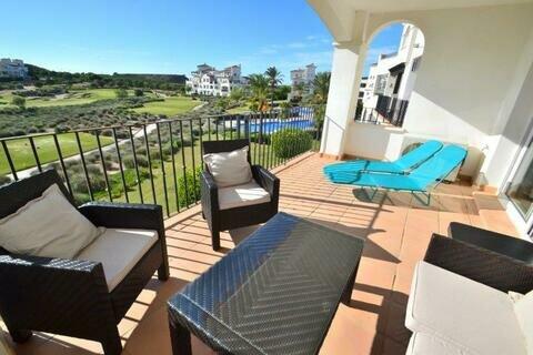 Ref:HR650 Apartment For Sale in Hacienda Riquelme Golf Resort