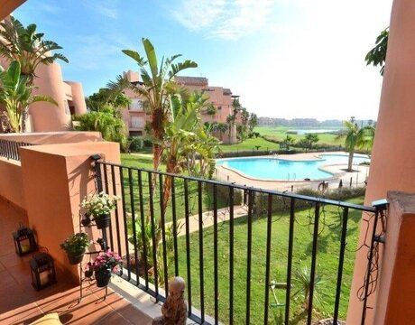 Ref:MM595 Apartment For Sale in Mar Menor Golf Resort