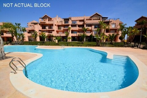 Ref:MM2321 Apartment For Sale in Mar Menor Golf Resort