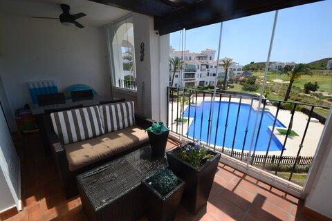 Ref:HR665 Apartment For Sale in Hacienda Riquelme Golf Resort