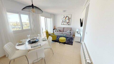 Ref:HR667 Apartment For Sale in Hacienda Riquelme Golf Resort