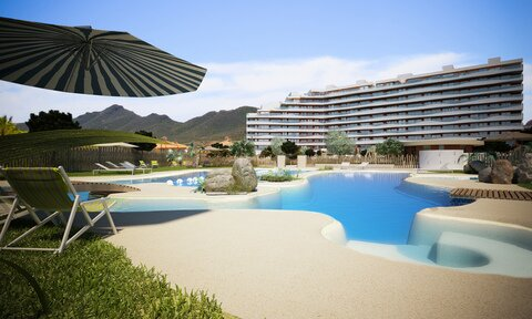 Ref:Flamencos-E1 Apartment For Sale in La Manga del Mar Menor