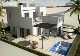 Frontline villas at Roda Golf Resort