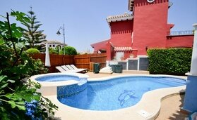 Mar Menor - Baron villa with heated private pool